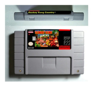 Donkey Kong Country 1 Repro Snes Super Nintendo