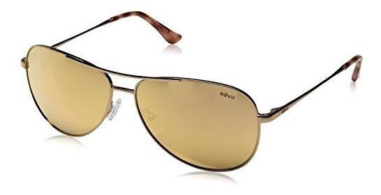 Revo Relay Re 1014 Gafas De Sol De Aviador Polarizadas Para
