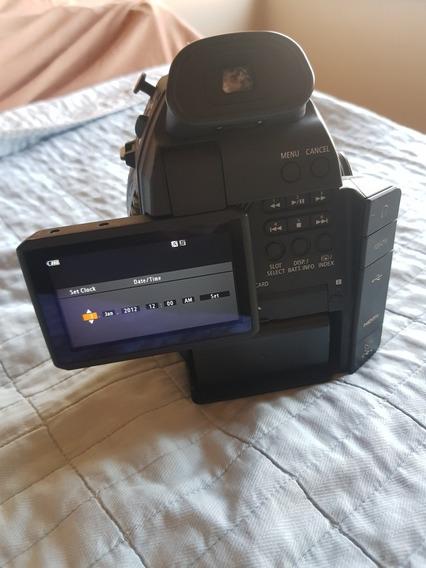 Corpo Canon C100 Funcionando,sem Algumas Partes, Já Vendidas