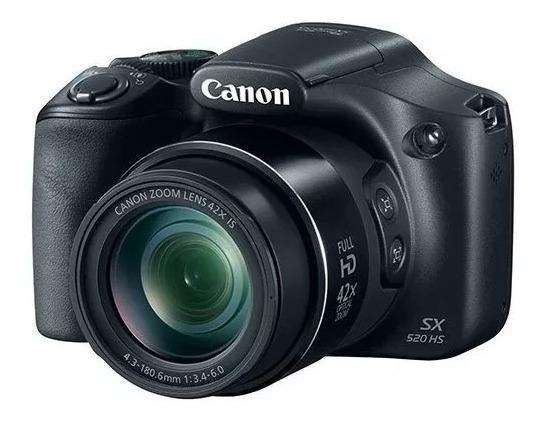 Canon Sx520hs Nova (melhor Preço Do Ml)