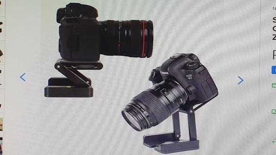 Suporte Ajustável Para Câmera Dslr Tripé Cabeça Z Pan Metal