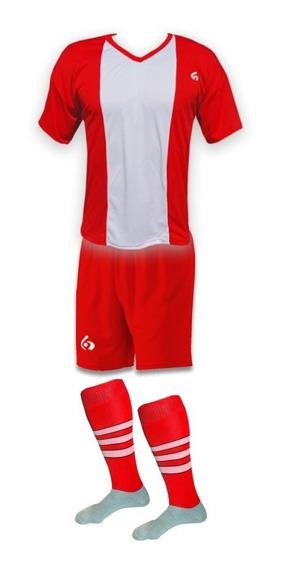 18 Camisetas Numeradas Futbol : Camisetas + Short + Medias