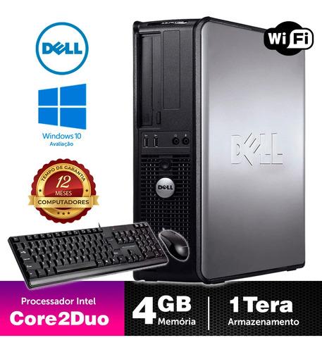 Computador Barato Dell Optiplex Int C2duo 4gb Ddr3 1tb