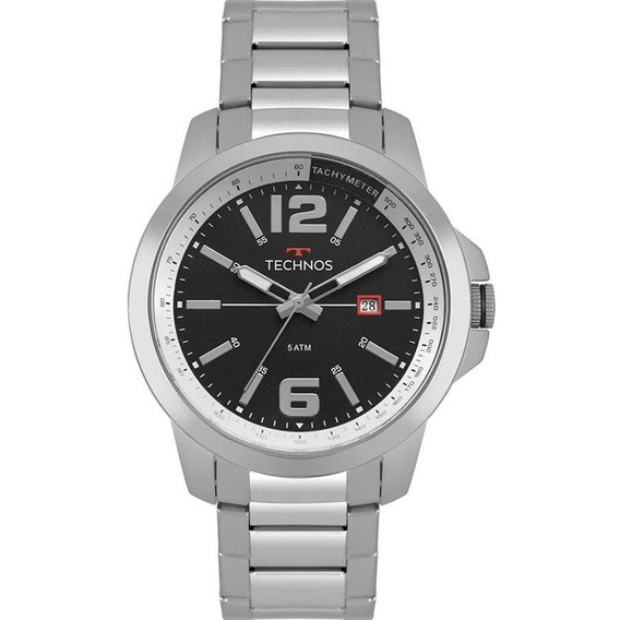 Relógio Technos Masculino Racer Prata 2115mrp/1p Original