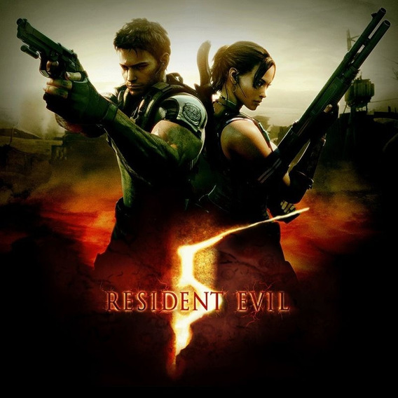 Resident Evil 5 Pc Original Midia Digital