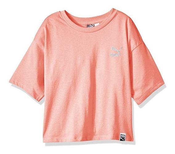 Camiseta Para Niñas Puma