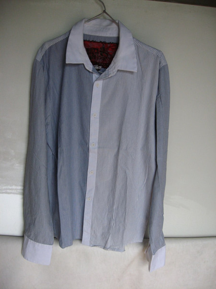 Camisa Hombre, Made In India, Talle L/g, 100% Algodòn.