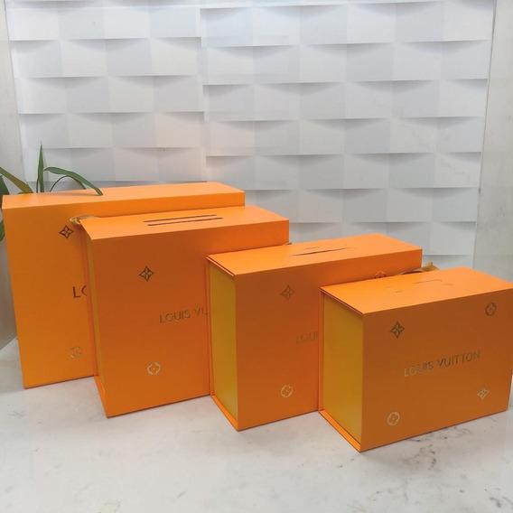 Caixa Bolsa Louis Vuitton Medidas Aproximadas : 30cm Comprimento X 10cm Largura X 20cm Altura Envio Imediato