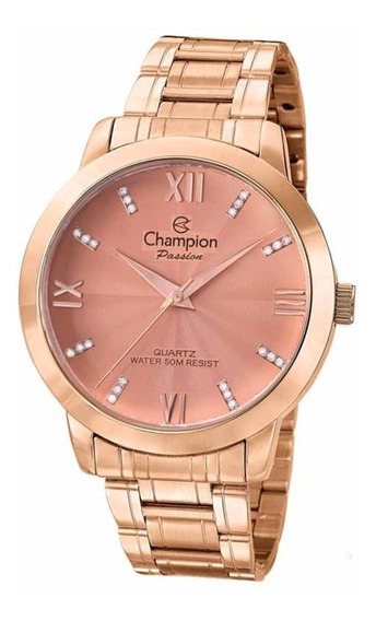 Relogio Champion Feminino Rose Original