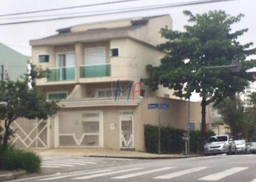 Imagem 1 de 24 de Ref 12.449 Linda  Casa, Localizada No Bairro Paraíso, Com 3 Dorms Sendo 3 Suítes, 5 Banheiros, 4 Vagas De Garagem, 190 M² Útil. - 12449
