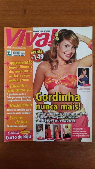 Revista Viva! Edição 432 2008 Fernanda Souza