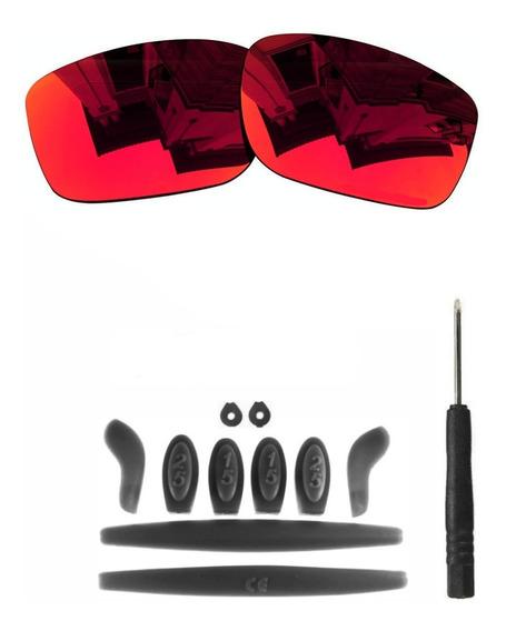 Lente X Squared Ultra Red Kit De Borracha Completa Preto