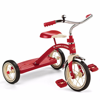 Tb Radio Flyer Classic Red Tricycle, 10-inch
