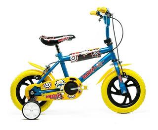 Bicicleta Rodado 12 Con Freno Niño Niña - Luico Hogar