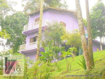Chácara Com 2 Dormitórios À Venda, 2100 M² Por R$ 379.000 - Aldeinha - Itapecerica Da Serra/sp - Ch0004