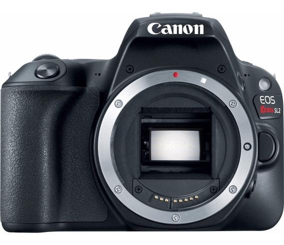 Câmera Canon Dslr Eos Rebel Sl2 Corpo Envio Imediato