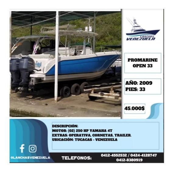 Lancha Promarine Open 33 Lv602
