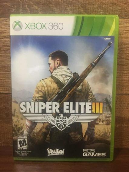 Sniper Elite 3 Xbox 360 Mídia Física Envio Imediato