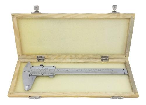 Pie De Rey Metálico Doble Escala 150mm/6   Marca Chicago