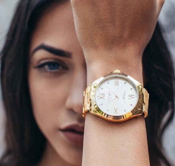 Relógio De Luxo Feminino Nowa Vários Modelos