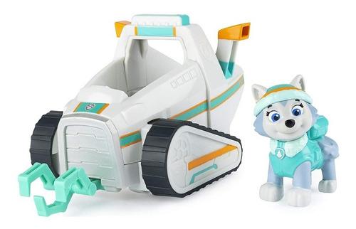 Paw Patrol - Vehículo Con Figura Everest