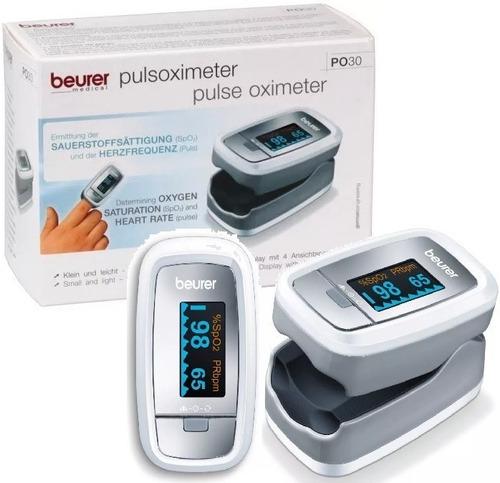 Oximetro De Pulso Saturometro Beurer Po30
