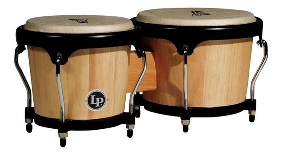 Bongos Aspire Latin Percussion Lpa601 Aw 6 ¾ Y 8