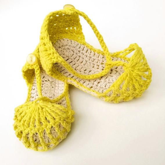 Sandalias De Algodón Para Bebés