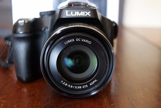 Câmera Lumix Panasonic Fz70 Zoom 60x Ótico (leica)