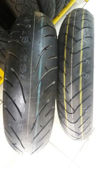Par Pneu 120/70-17 + 160/60-17 Bridgestone Battlax Bt023 Xj6