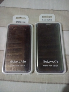 Capas Clear View Samsung Original A5/a7 2016
