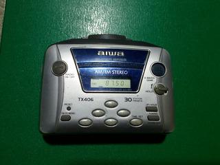 Walkman Radio Casset Aiwa Fm .am De Coleccion La Fiesta