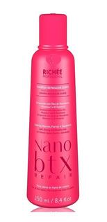 Richée Shampoo Reparador Diário Nanobtx Mais Brilho Cabelo