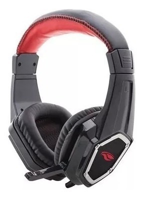 Headset Gamer C3tech Ph-g100bk Crow C/microfone Preto