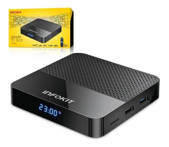 Smart Tv Box Android 9 4k 2gb+16gb Real - Infokit Tvb926d