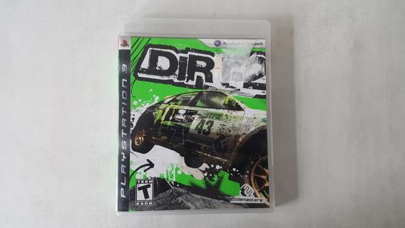Dirt 2 - Ps3 - Original Mídia Física