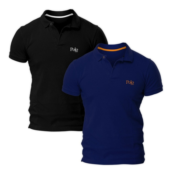 Kit Com Duas Camisas Polo Piquet Regular Fit - Polo Match