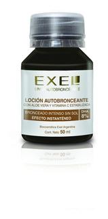 Loción Autobronceante Efecto Instantaneo Dha 8%. 50 Ml Exel