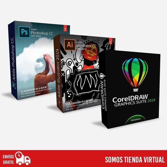 Pack Phot-shop, Illus-trator, Corel 2019 - 2020 + Regalo