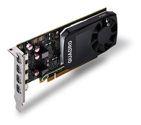 Quadro Nvidia P1000 4gb Ddr5 640 Cuda Cores 128bit Dp