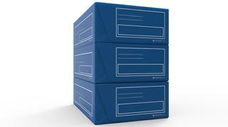Caja De Archivo Corrugado Plastico Legajo Azul X 10 Unidades