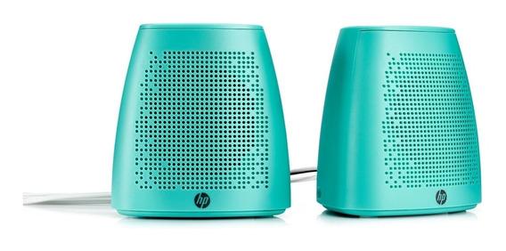 Speaker Hp S3100 Usb P2 Verde W2p99aa
