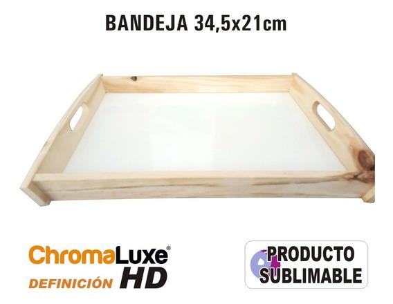 Bandeja Sublimable Con Definición Hd Chromaluxe 21x34,5cm