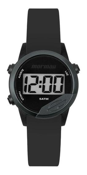 Relógio Mormaii Mude Unissex Preto Mo4100ab/8p