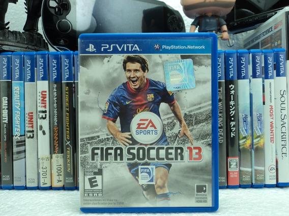 Fifa Soccer 13 - Ps Vita - Promoção Em Até 12x Sem Juros !!!