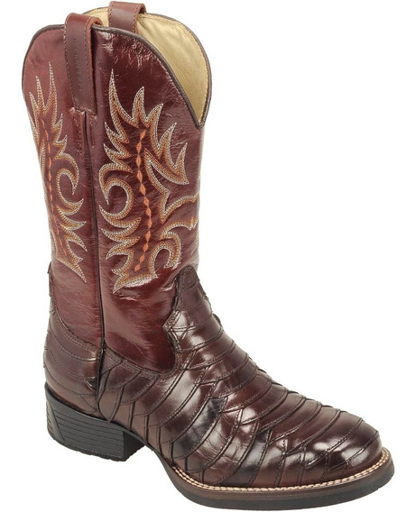 Bota Texana Escamada Silverado /4085esc Do 45 Ao 50