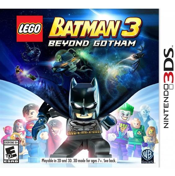 Lego Batman 3 Beyond Gotham 3ds Mídia Física Novo Lacrado