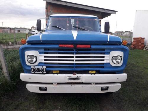 Camion Ford 700 Motor Perkins Caja 5ta Volcadora Excelente!