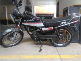 Moto Honda Ml 125 - 1988 Com 7671kms Originais/sem Restauro