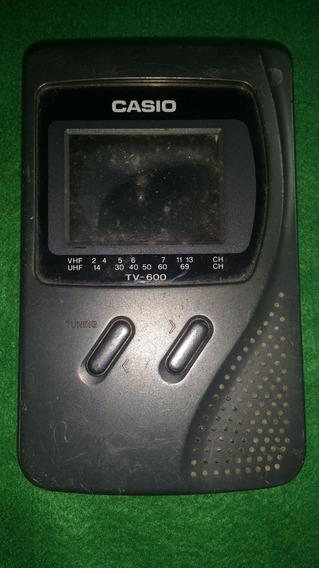 Mini Tv Casio Modelo Tv-600b